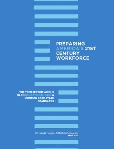 Preparing America's 21st Century Workforce summary