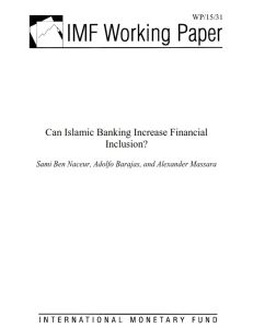 Can Islamic Banking Increase Financial Inclusion?