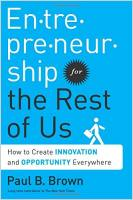 Entrepreneurship for the Rest of Us book summary