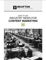 How to Use Industry News for Content Marketing summary