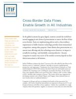 Cross-Border Data Flows Enable Growth in All Industries summary