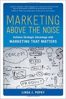 Marketing Above the Noise book summary