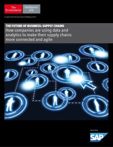 The Future of Business: Supply Chains summary