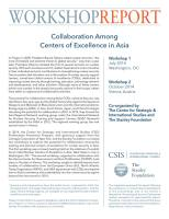 Collaboration Among Centers of Excellence in Asia summary