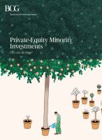 Private-Equity Minority Investments summary