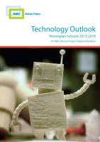 Technology Outlook for Norwegian Schools 2013–2018 summary