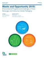 Waste and Opportunity 2015 summary