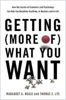 Getting (More of) What You Want book summary