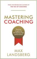 Mastering Coaching book summary