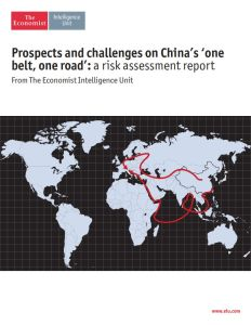 Prospects and Challenges on China's 'One Belt, One Road' summary