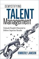 Demystifying Talent Management book summary