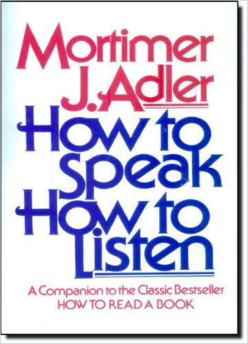 Image of: How to Speak How to Listen