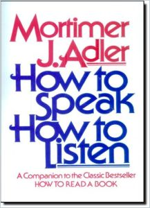 How to Speak How to Listen book summary