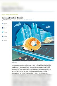 Tipping Point in Transit summary