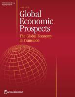 Global Economic Prospects June 2015 summary