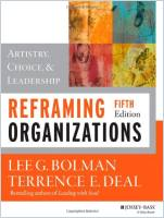 Reframing Organizations book summary