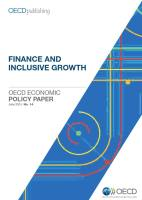 Finance and Inclusive Growth summary
