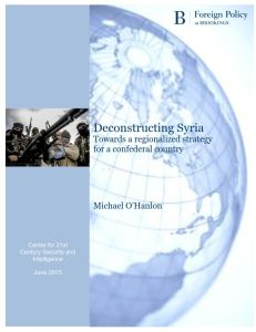 Deconstructing Syria summary