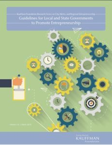 Guidelines for Local and State Governments to Promote Entrepreneurship summary