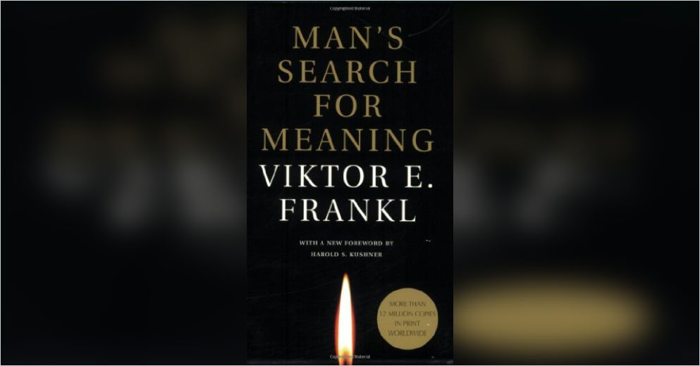 the development of logotherapy in mans search for meaning a book by viktor frankl Say man's search for meaning and they will say yes, i know that book viktor frankl: father of logotherapy i would often tell frankl that his book was very popular in the yeshivah world.