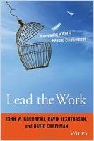 Lead the Work book summary