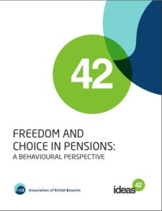 Freedom and Choice in Pensions summary