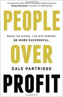 People Over Profit book summary