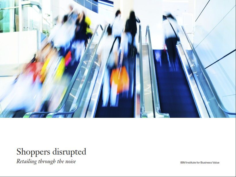 Image of: Shoppers Disrupted
