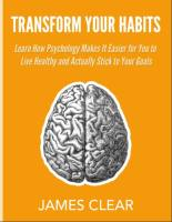 Transform Your Habits book summary