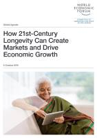How 21st-Century Longevity Can Create Markets and Drive Economic Growth summary