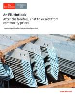 After the Freefall, What to Expect from Commodity Prices