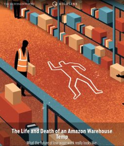 The Life and Death of an Amazon Warehouse Temp summary