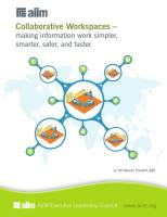 Collaborative Workspaces summary