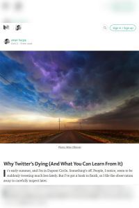 Why Twitter's Dying (And What You Can Learn From It) summary