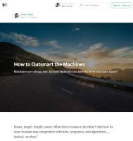 How to Outsmart the Machines summary