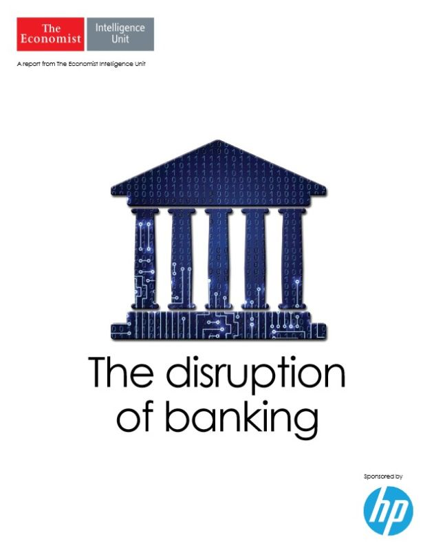 Image of: The Disruption of Banking