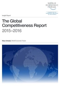 The Global Competitiveness Report 2015–2016 summary