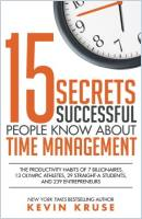 15 Secrets Successful People Know About Time Management book summary