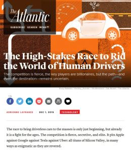 The High-Stakes Race to Rid the World of Human Drivers summary