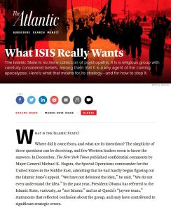 What ISIS Really Wants summary