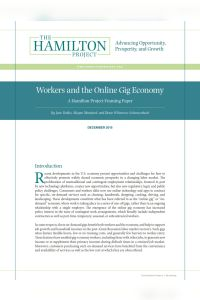 Workers and the Online Gig Economy summary