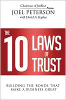 The 10 Laws of Trust book summary