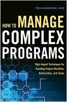 How to Manage Complex Programs book summary