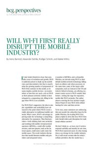 Will Wi-Fi First Really Disrupt the Mobile Industry? summary