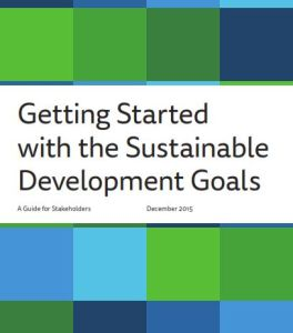 Getting Started  with the Sustainable Development Goals summary