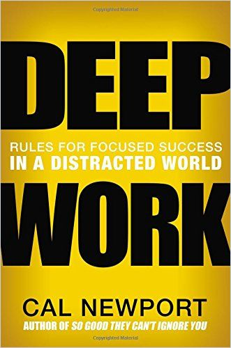 Image of: Deep Work