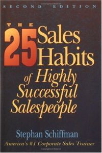 The 25 Sales Habits of Highly Successful Salespeople book summary