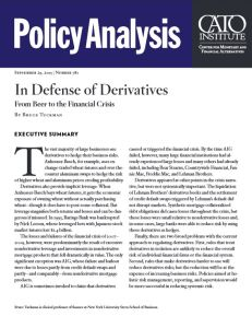 In Defense of Derivatives summary