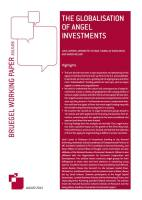 The Globalization of Angel Investments summary