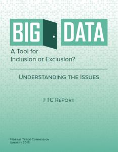 Big Data. A Tool for Inclusion or Exclusion? summary